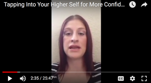 Tapping Into Your Higher Self for More Confidence with Angel Erica