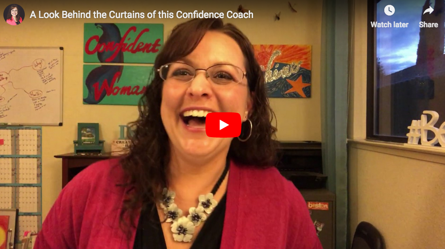 A Peek Behind the Curtains of this Confidence Coach